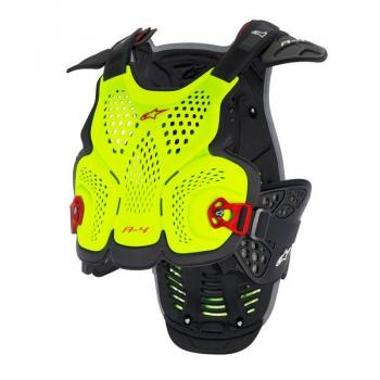Pare Pierre Alpinestars A4 Blackjack Yellow Fluo Red XL/2XL