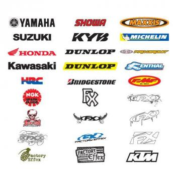 Dealer Packs stickers Factory Effex KTM (x5)