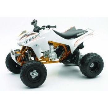 Honda quad 450 TRX 2009 red 1/12° NewRay