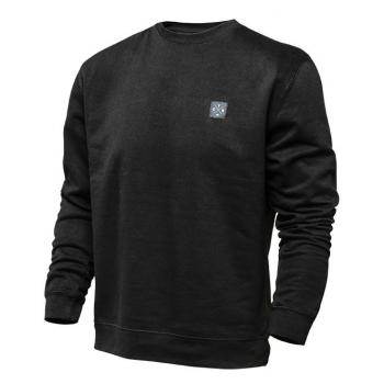 Sweat Seven Benchmark Crew Neck Black 2XL