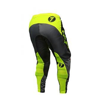 Pantalon Enfant Mini Seven Annex Ignite Black/Flo Yellow 18-2