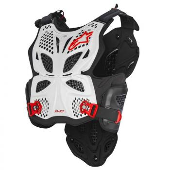 Pare Pierre Alpinestars A10 Chest Protector White XL/XXL