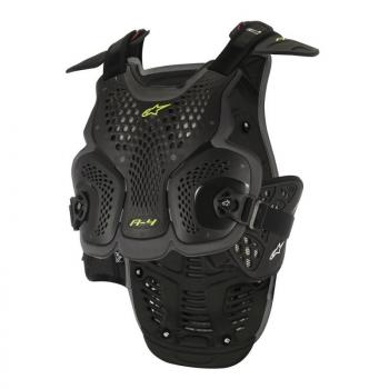 Pare Pierre Alpinestars A4 Black Anthracite M/L