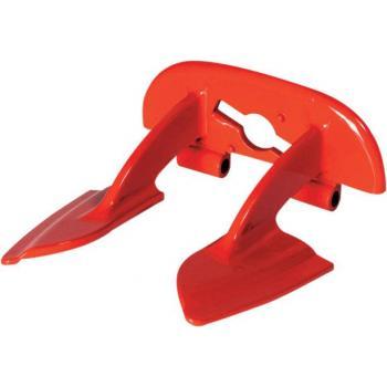 Plaque dorsale BNS (ancien modele) Serie MK Rouge