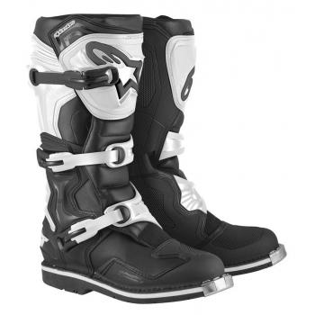 Bottes Alpinestars Tech 1 Black White 14 (49.5)
