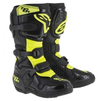 "Bottes Alpinestars Tech 6 Black/Yellow Fluo 4 (37) \""Vilopotto\"""
