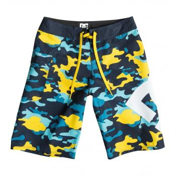 Boardshort enfant DC Lanai yellow pop army 14 ans-EDBBS03005-YJE1
