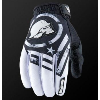 Gants MSR Metal Mulisha Optic Black White XL