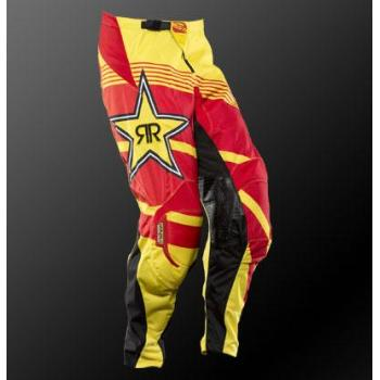 Pantalon Enfant MSR Rockstar Yellow Red 18-2