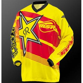 Maillot MSR Rockstar Yellow Red XXL