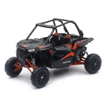 Polaris RZR XP 1000 Noir Orange 1/18° NewRay