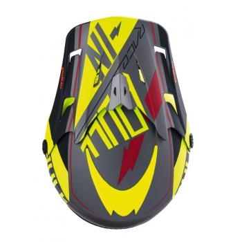 Casque Pull In Adulte Neon Yellow XS-3