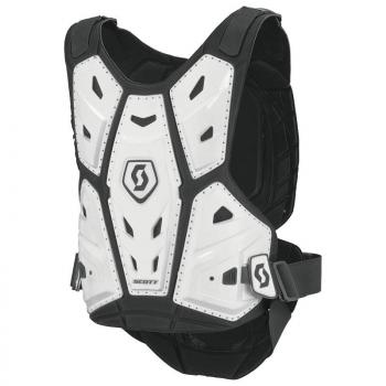 Pare Pierres Enfants Scott Body Armor Commander 2 White XS