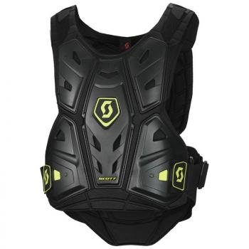 Pare Pierres Enfants Scott Body Armor Commander 2 Black Green XS