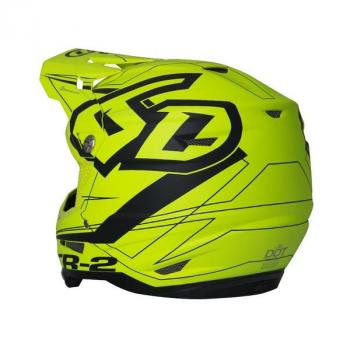 Casque 6D ATR-2 Aero Neon yellow XS-3