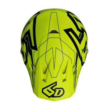 Casque 6D ATR-2 Aero Neon yellow XS-4