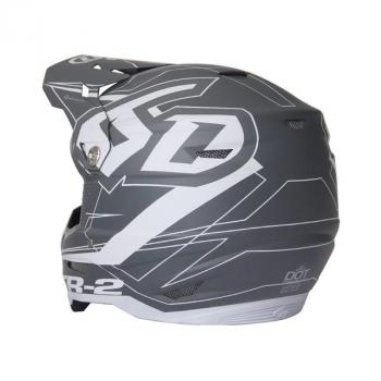 Casque 6D ATR-2 Aero Grey L-3