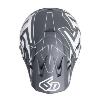 Casque 6D ATR-2 Aero Grey L-4