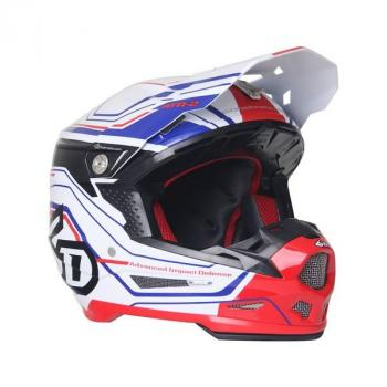 Casque 6D ATR-2 Circuit White XL