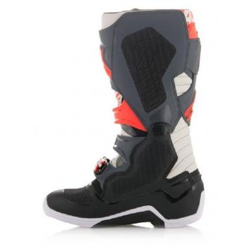 Bottes Alpinestars Tech 7 Blackjack Gray Black Red Fluo 11 (45.5)-2