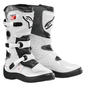 Bottes Alpinestars Tech 3S White/Black 8 (42)