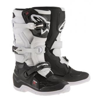 Bottes Enfants Alpinestars Tech 7S Black White 8 (42))