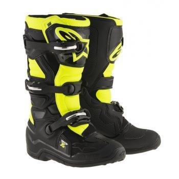Bottes Enfants Alpinestars Tech 7S Black Yellow Fluo 6 (39)