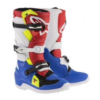 Bottes Enfants Alpinestars Tech 7S Blue/ White/ Red/ Yellow 2 (34)