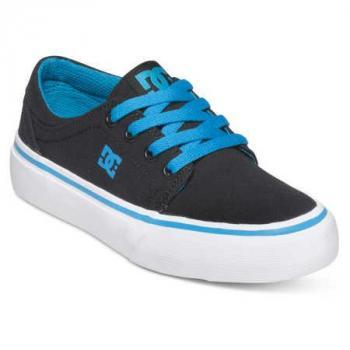 Chaussure enfant DC Trase black/turquoise 1(32)-ADBS300083-BTU