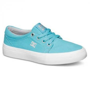 Chaussure enfant DC Trase Turquoise/grey 10.5(27.5)-ADBS300083-TLG