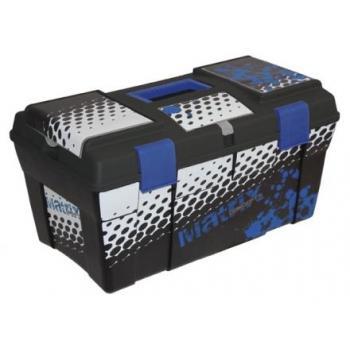 Caisse a outil Matrix Trax box portable bleu