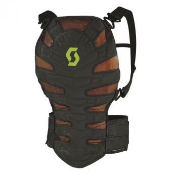 Dorsale Scott Soft CR Back Protector Black Green M