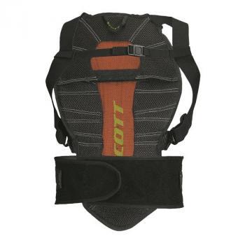 Dorsale Scott Soft CR Back Protector Black Green M-2
