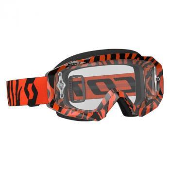Masque Scott Hustle MX Black Fluo Orange Clear Works