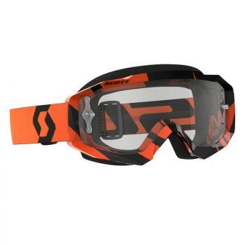 Masque Scott Hustle MX Black/Orange/CLear Works