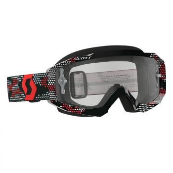 Masque Scott Hustle MX Black/Red/CLear Works