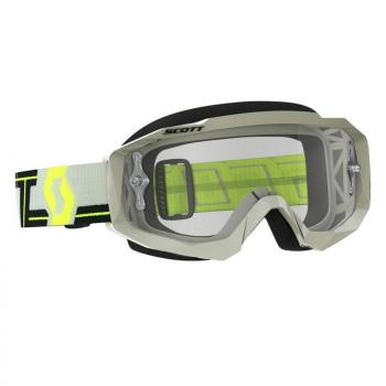 Masque Scott Hustle MX Grey/Yellow/Clear Works