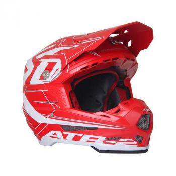 Casque 6D ATR-2 Aero Red L