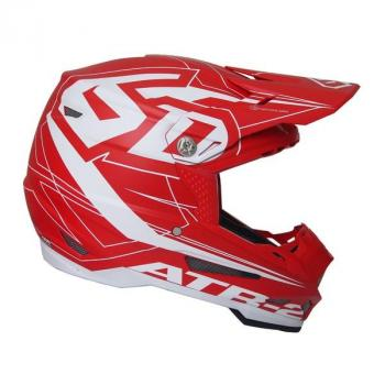 Casque 6D ATR-2 Aero Red L-2