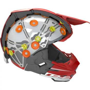 Casque 6D ATR-2 Aero Red L-6