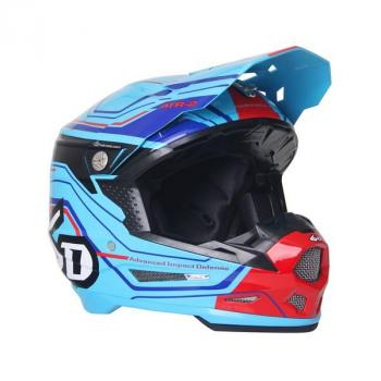 Casque 6D ATR-2 Circuit Neon Blue XS