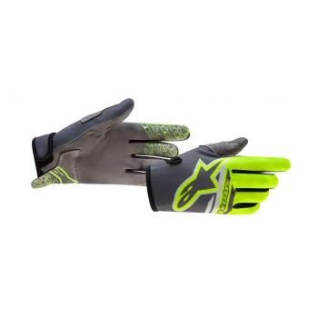 Gants Alpinestars Radar Angel Yellow/Gray/Black XXL