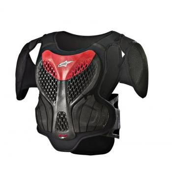 Pare Pierre Enfants Alpinestars A-5 S Body Armour Black Red S/M