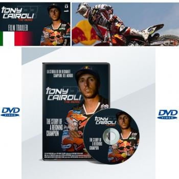 DVD Tony Cairoli The Movie