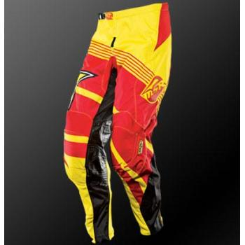 Pantalon Enfant MSR Rockstar Yellow Red 24-1