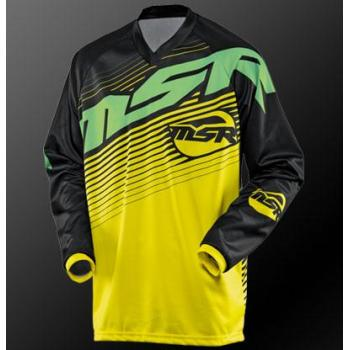 Maillot MSR Axxis Yellow Green M