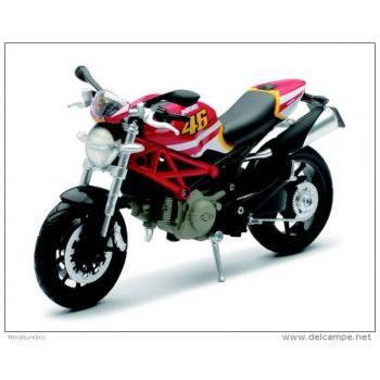 DUCATI Monster 796 n°46 Valentino Rossi replica 1/12° NewRay