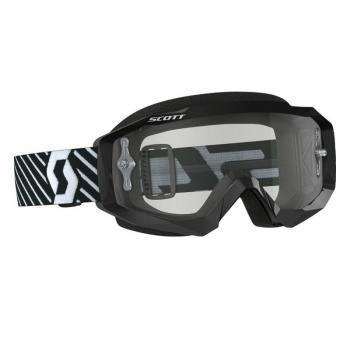 Masque Scott Hustle MX Black/White/Clear Works