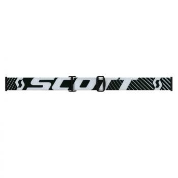 Masque Scott Hustle MX Black/White/Clear Works-2