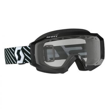 Masque Scott Hustle MX Enduro Black White / Light Sensitive Works
